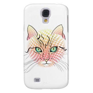 Comic-Katze Galaxy S4 Hülle