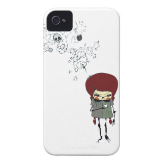 Comic Lady iPhone 4 Cover