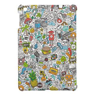 Comic-Popkunst Gekritzel iPad Mini Cover