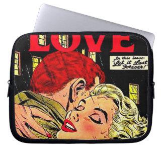 Comic, retro, laptop sleeve schutzhüllen