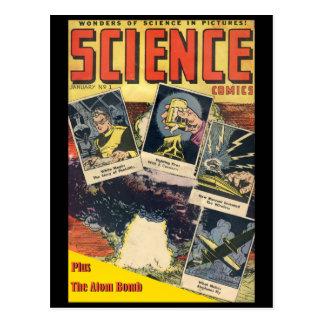 Comic Sci-FI: Wissenschafts-Comicen 1 Postkarte