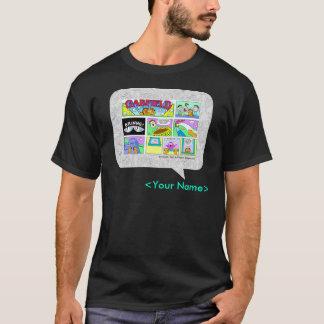 Comic-Streifen-Entwurf GARFIELDS Sonntag T-Shirt