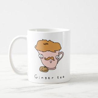 Comic-Tee-Tasse des Ingwer-Tee-| lustige Kaffeetasse