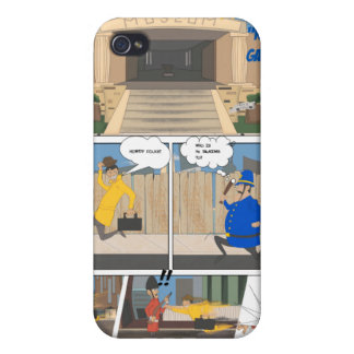 Comicbuchkunst iPhone 4 Hüllen