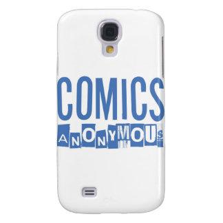 Comicen anonymes Merch Galaxy S4 Hülle