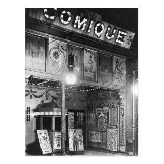 Comique Theater Postkarte