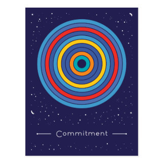 Commitment Postkarte