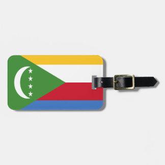 Comoren-Flagge Gepäckanhänger