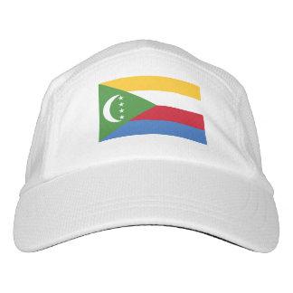 Comoren-Flagge Headsweats Kappe