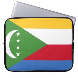Comoren-Flagge Laptop Sleeve
