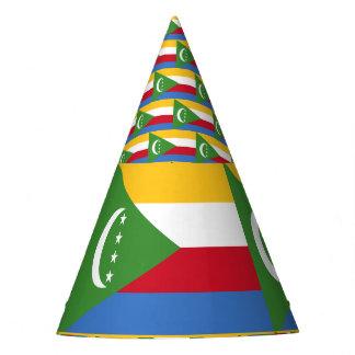 Comoren-Flagge Partyhütchen