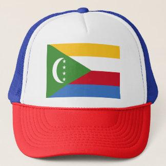 Comoren-Flagge Truckerkappe