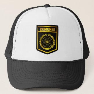 Comores Emblem Truckerkappe