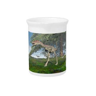 Compsognathus Dinosaurier - 3D übertragen Krug