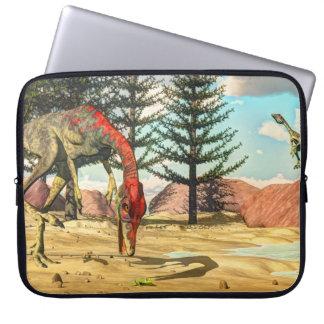 Compsognathus Dinosaurier - 3D übertragen Laptopschutzhülle