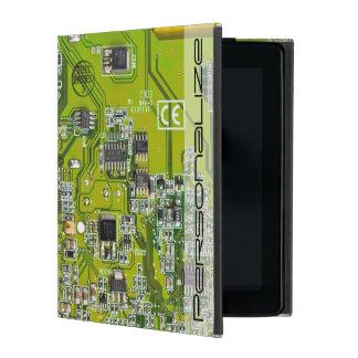 Computer-Aussenseiter-Leiterplatte - Gold iPad Hülle