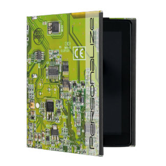 Computer-Aussenseiter-Leiterplatte - Gold iPad Schutzhülle