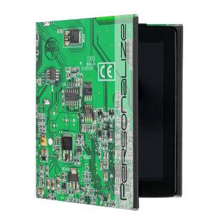 Computer-Aussenseiter-Leiterplatte - Grün Hülle Fürs iPad