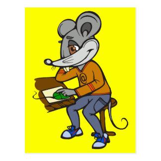 Computer-Aussenseiter-Maus Postkarte