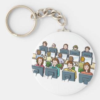 Computer-Benutzer Schlüsselanhänger
