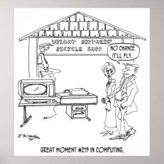 Computer-Cartoon 1331 Poster