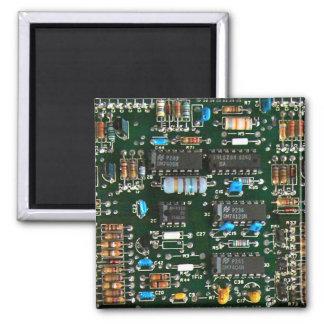 Computer-Elektronik-Leiterplatte Quadratischer Magnet