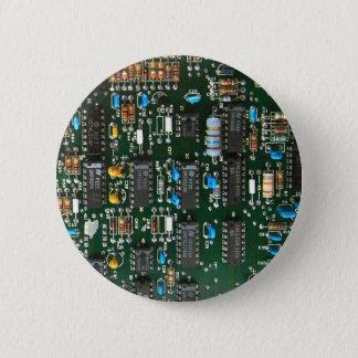 Computer-Elektronik-Leiterplatte Runder Button 5,1 Cm