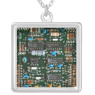 Computer-Elektronik-Leiterplatte Versilberte Kette