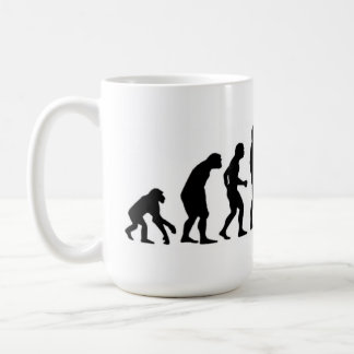 Computer-Evolution Kaffeetasse