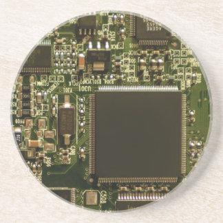 Computer-Festplattenlaufwerk-Leiterplatte Getränke Untersetzer