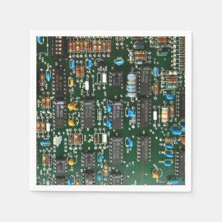 Computer-Leiterplatte Servietten