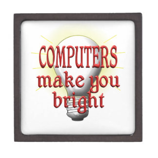 Computer machen Sie hell Schmuckkiste