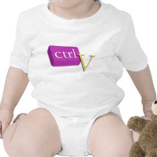 Computer-Nerd-Zwillings-Baby 2 von 2 (Ctrl V) Body