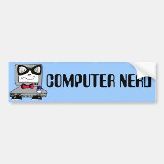 Computer-Nerdgeek-Autoaufkleber Autoaufkleber