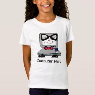 Computer-Nerdgeek-Shirt für Mädchen T-Shirt