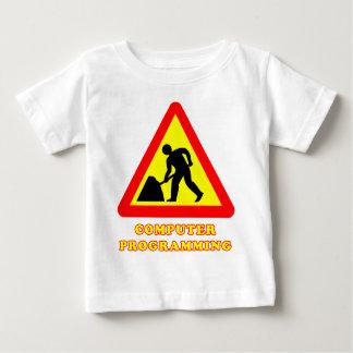 Computer-Programmierungslustiger Baby T-shirt