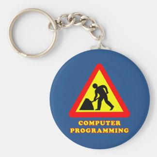 Computer-Programmierungslustiger Schlüsselanhänger