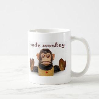 Computer Prorgrammer Code-Affe-Kaffeetasse-Tasse Tasse