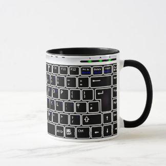 Computer-Tastatur-Entwurfs-Kaffee-Tasse Tasse