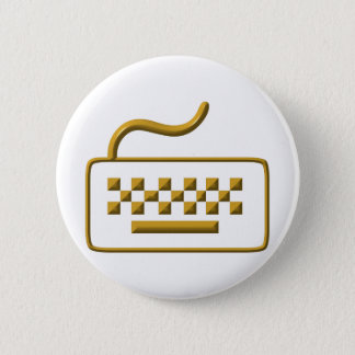 Computer-Tastatur Runder Button 5,7 Cm