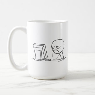 Computer-Typ Meme - Tasse
