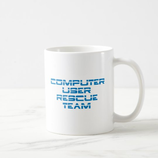 Computer User Rescue Team Kaffeetasse