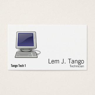 Computer Visitenkarte