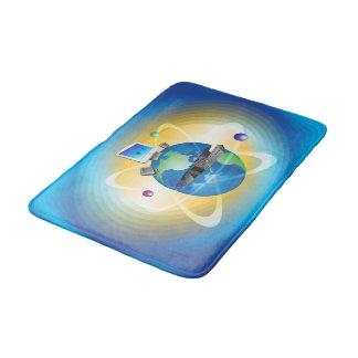 Computer-Welt Badematten