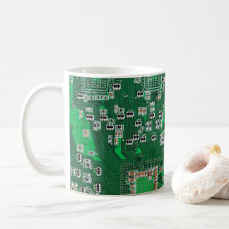 Computergeek-Leiterplatte-Kaffee-Tasse Kaffeetasse