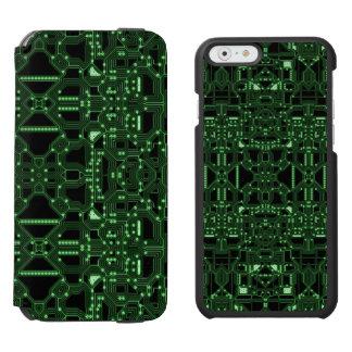 Computerisiert Incipio Watson™ iPhone 6 Geldbörsen Hülle