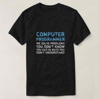 Computerprogrammierer-lustiger T - Shirt