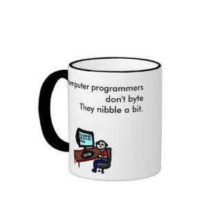 Computerprogrammierer tun nicht Byte Teetassen