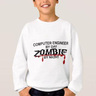Computertechniker-Zombie Sweatshirt
