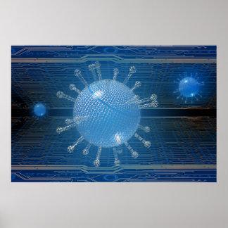 Computervirus Poster